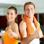 sporty couple gym_cp