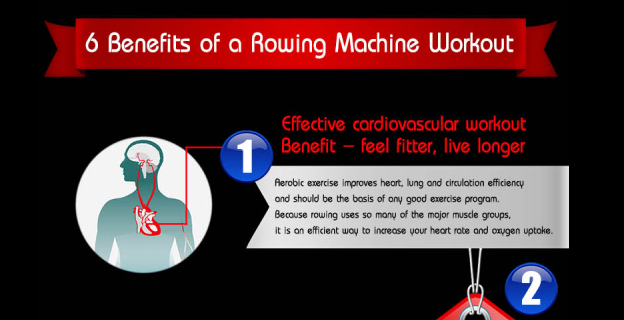 6 Benefits of a Rowing Machine Workout