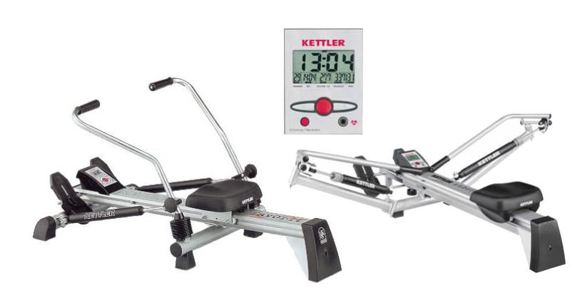 The Kettler Rowing Machine Kadett Or Favorit