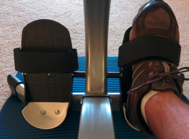 Stamina Body Trac Glider Problems - Footrests 2